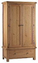 Vale Furnishers - Dorking Gents Wardrobe